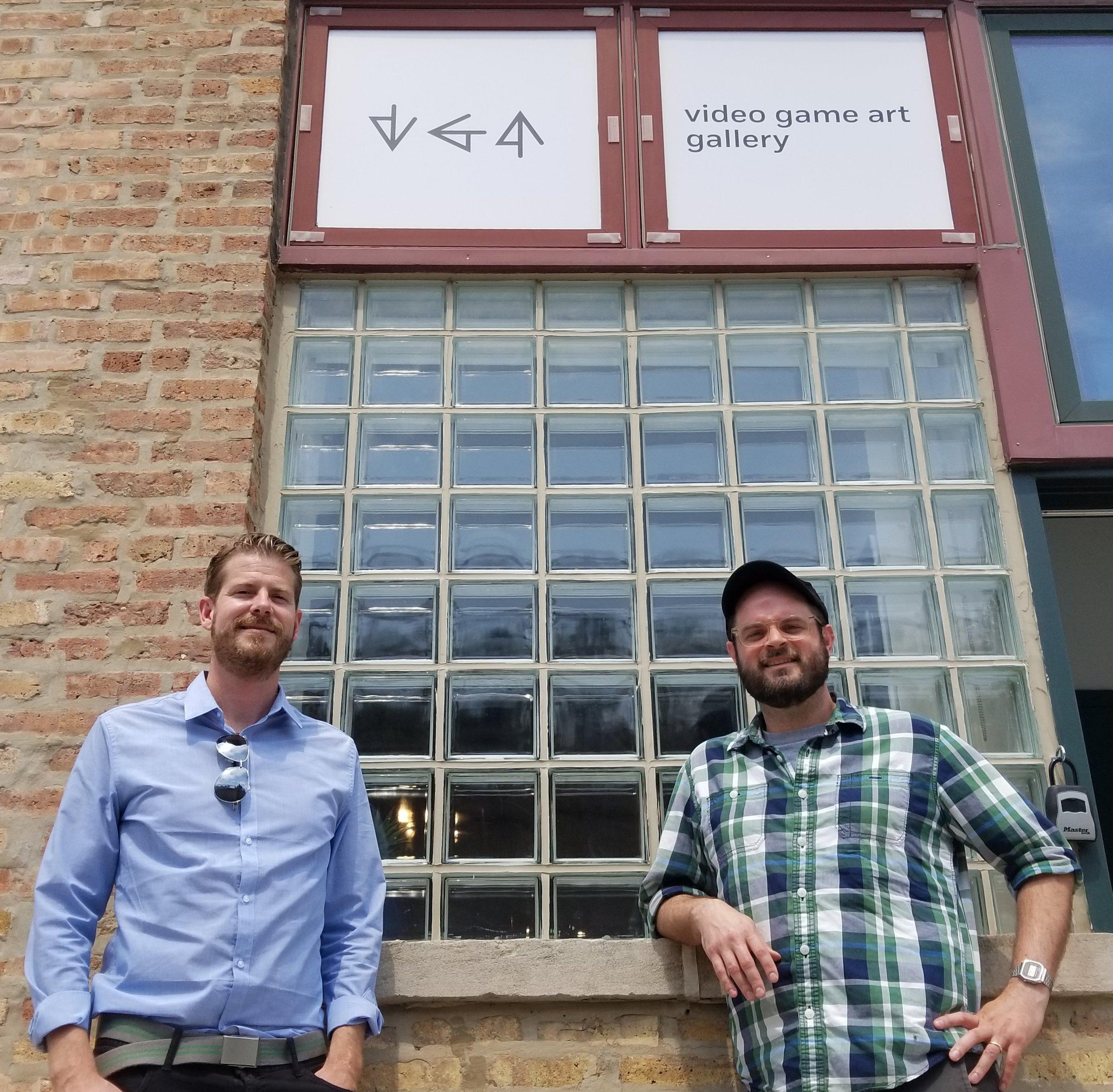 VGA executive director Jonathan Kinkley &VGA director of exhibitions/programs Chaz Evans