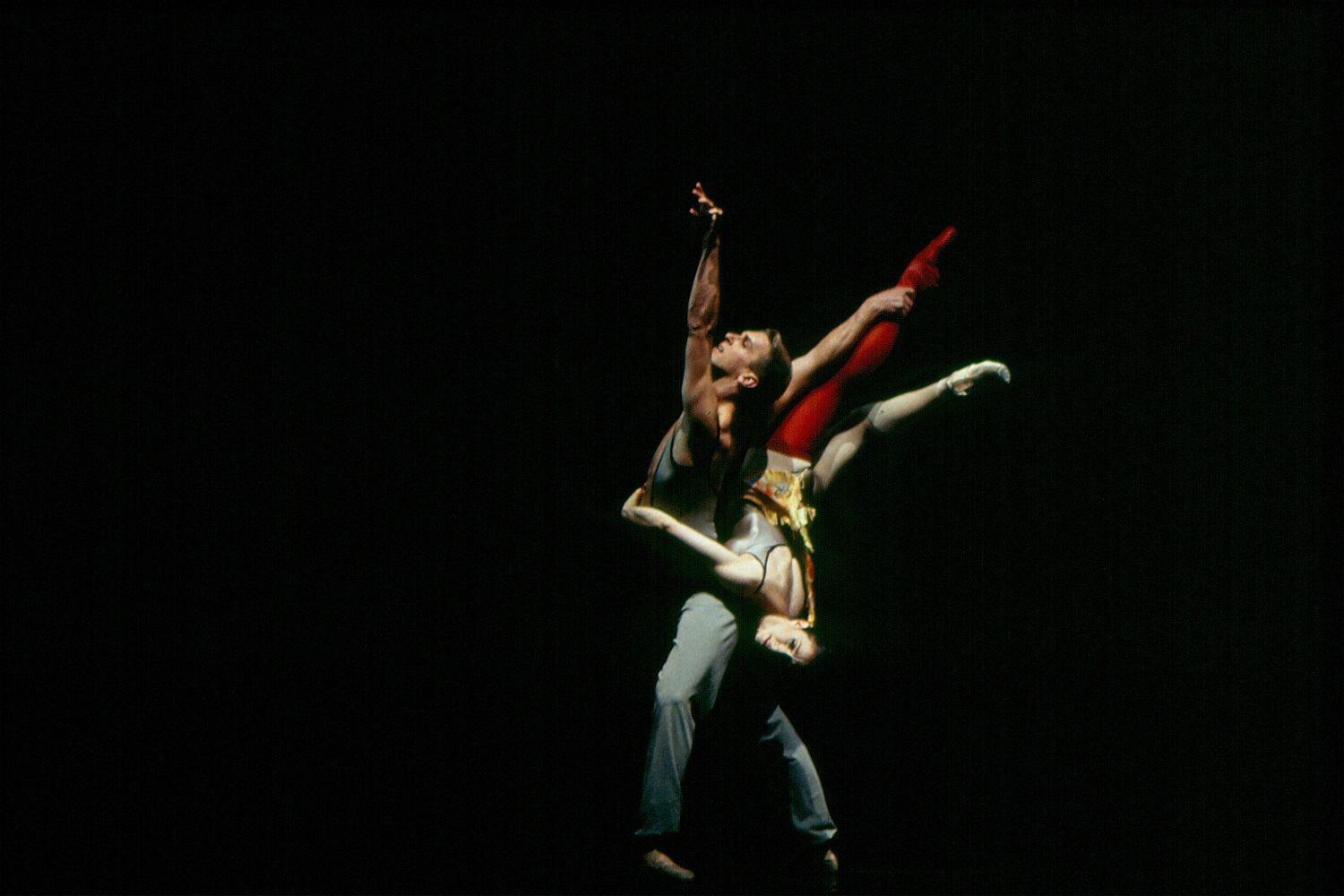 Ashley Wheater dancing with Joanna Berman in Dance House. Photo credit Marty Sohl