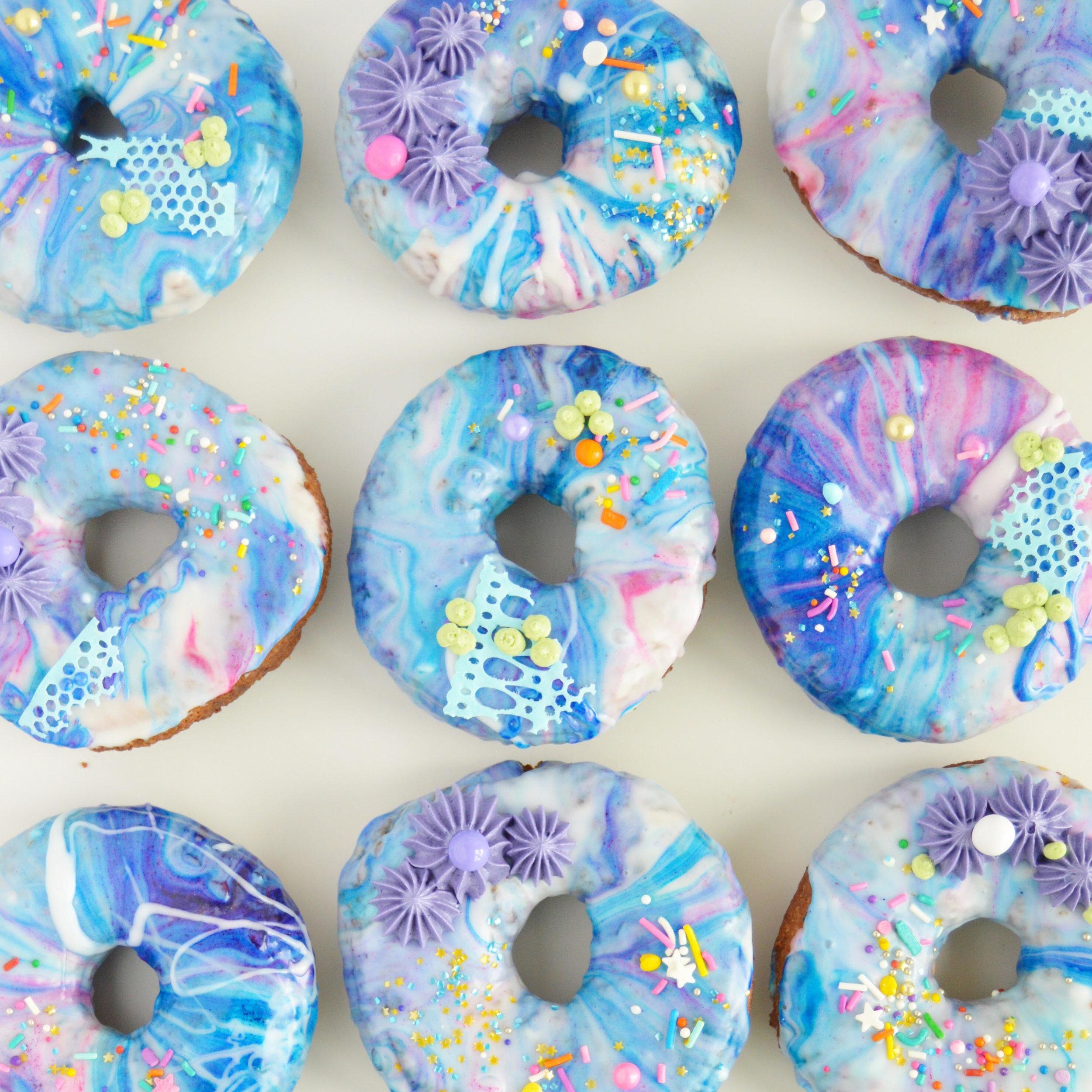 Emily also makes gorgeous doughnuts