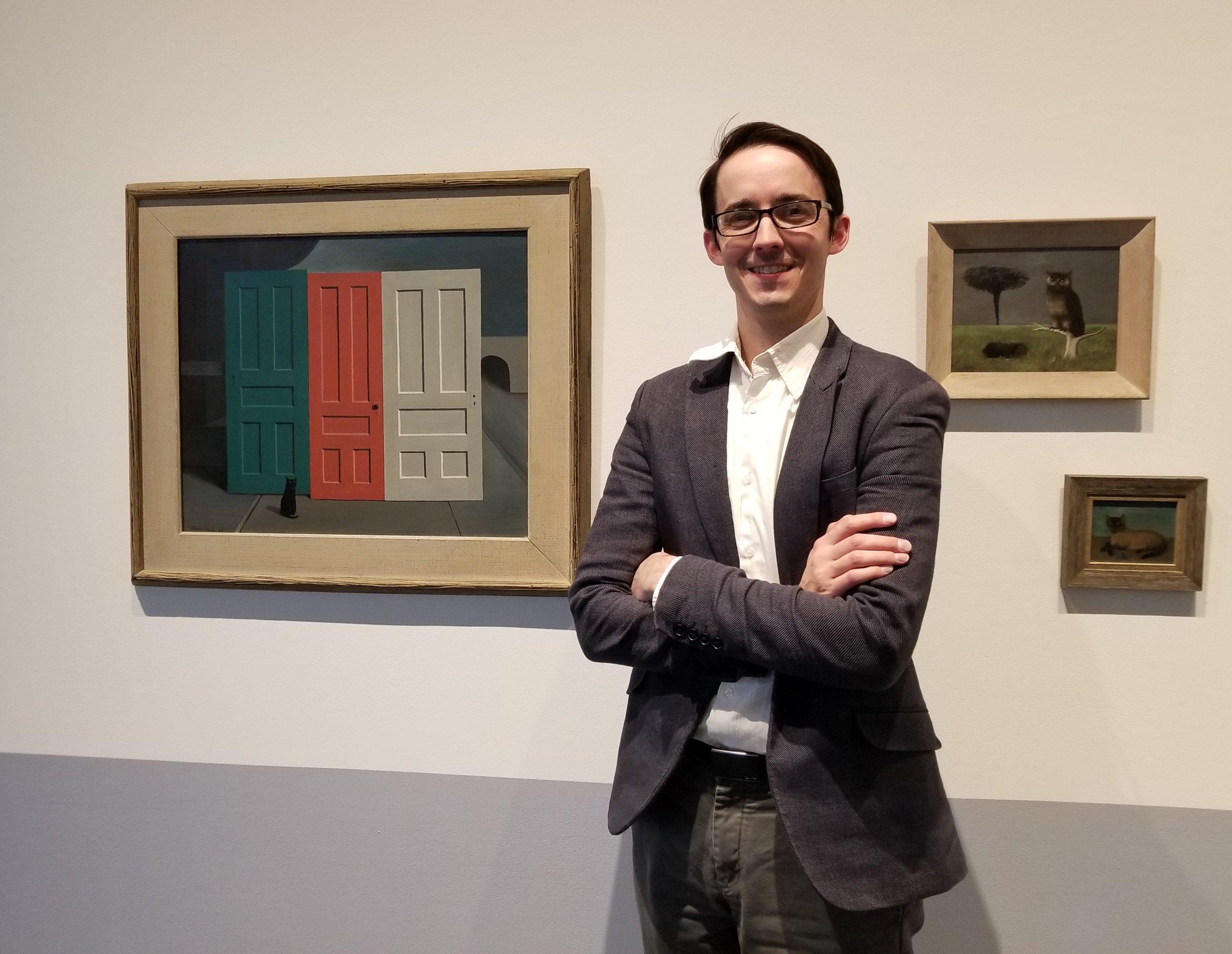 John McKinnon, executive director of the Elmhurst Art Museum