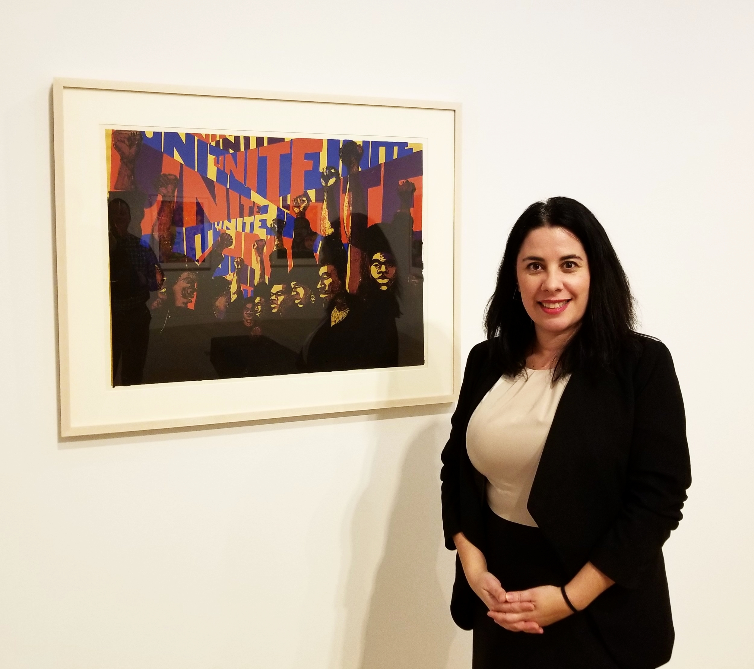 Julie Rodrigues Widholm, director/chief curator of the DePaul Art Museum