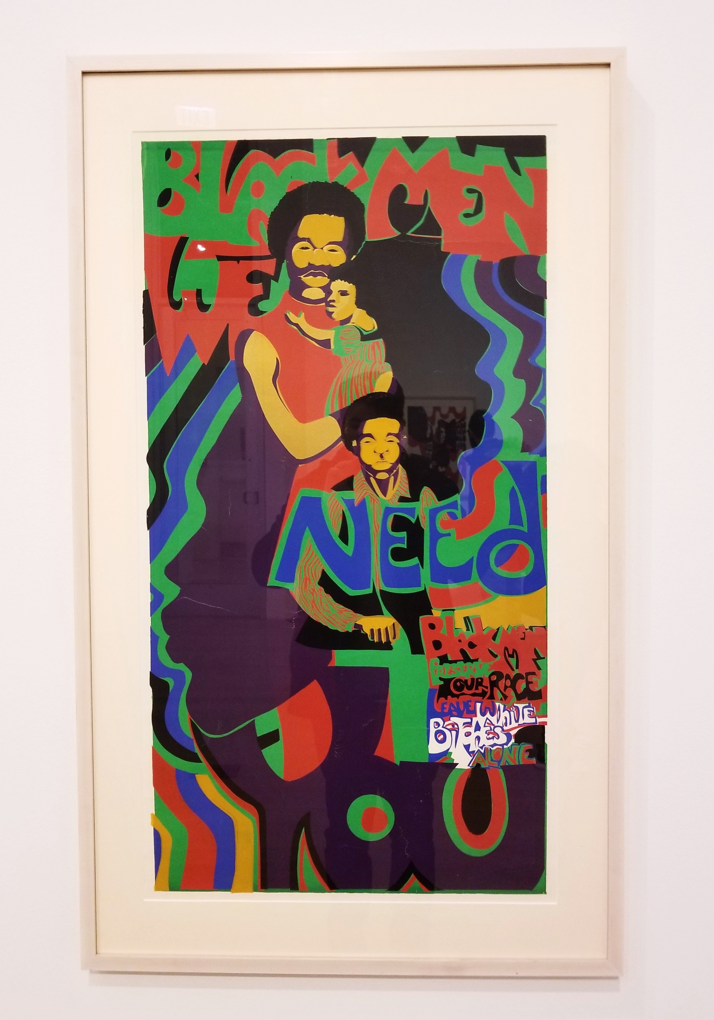 BLACK MEN WE NEED YOU, 1971 Barbara Jones-Hogu