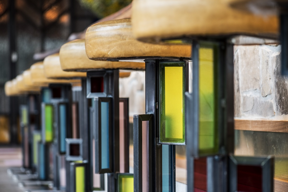 Bar stools at Prairie School. Photo credit Anthony Tahlier