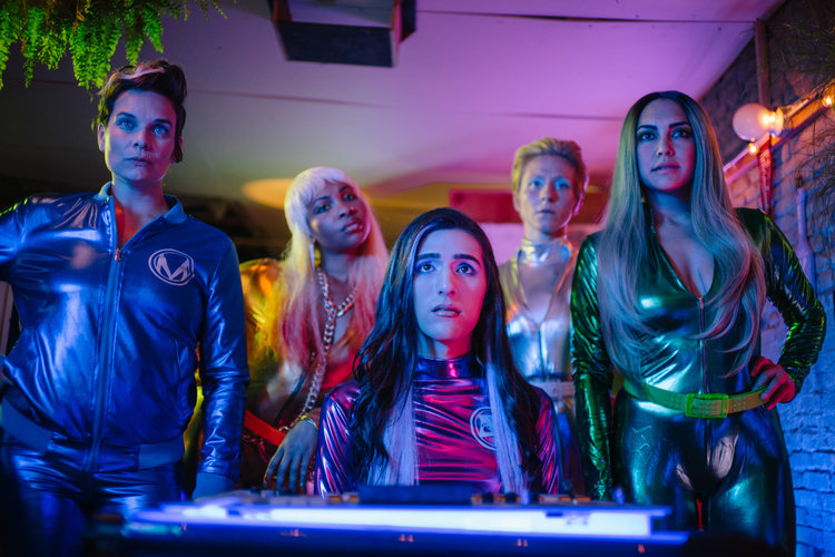 Image from the Chicago-based web series, KAPPA FORCE