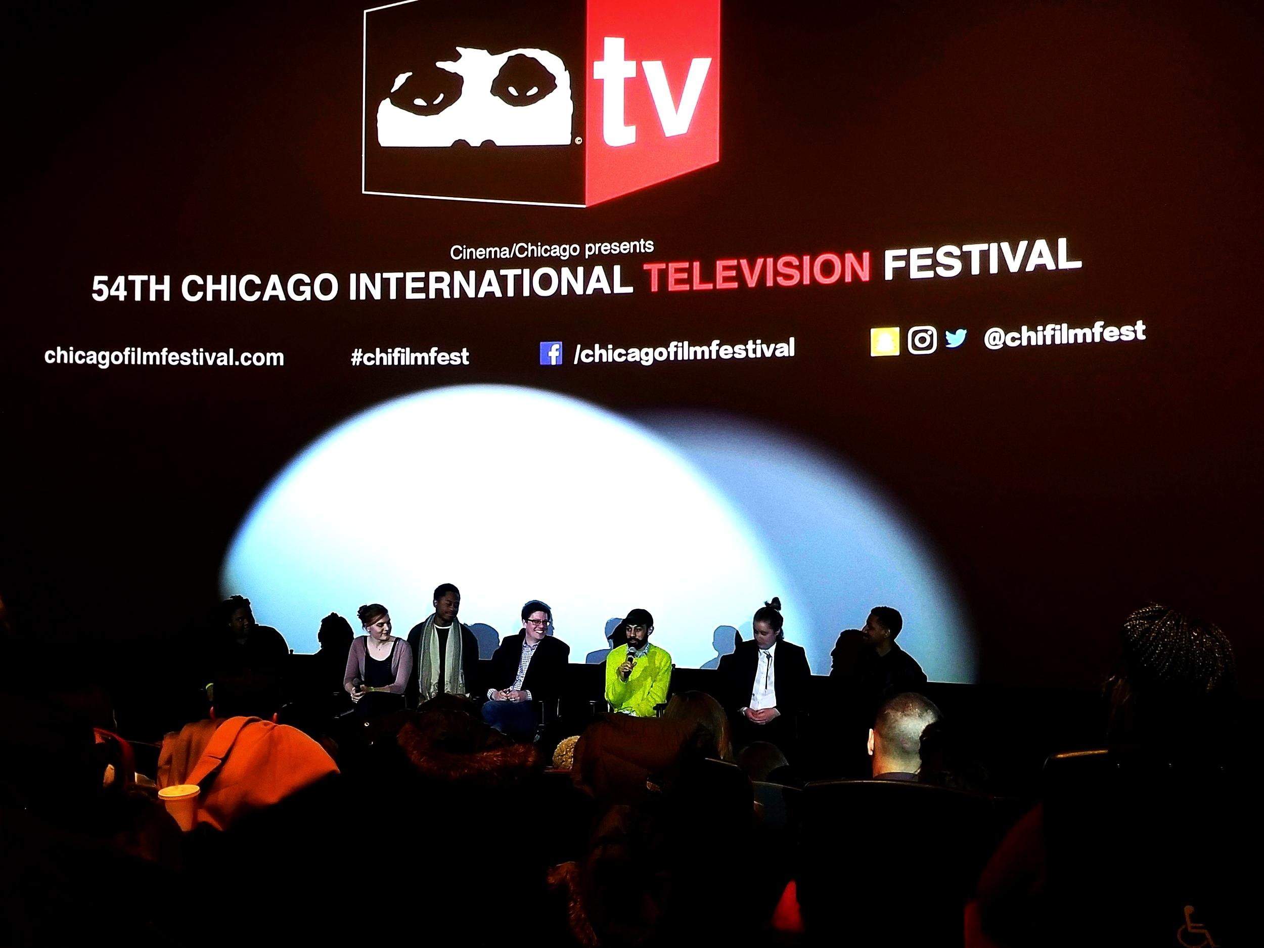 WOKE TV Q-and-A session at Chicago International Television Festival