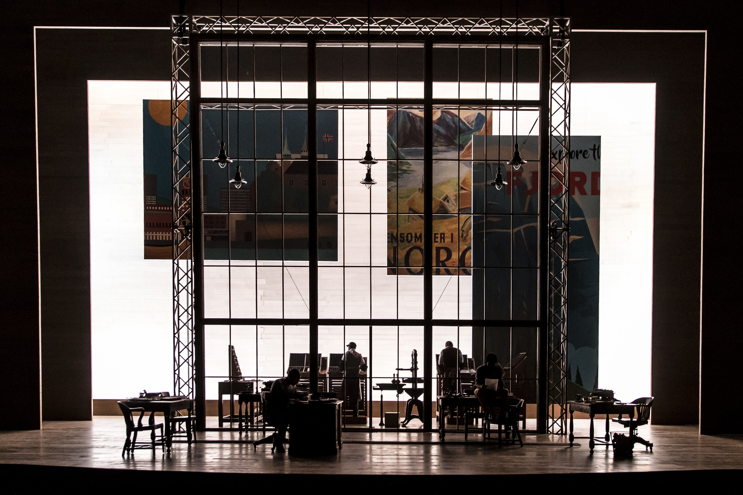 Set for Goodman Theatre's AN ENEMY OF THE PEOPLE