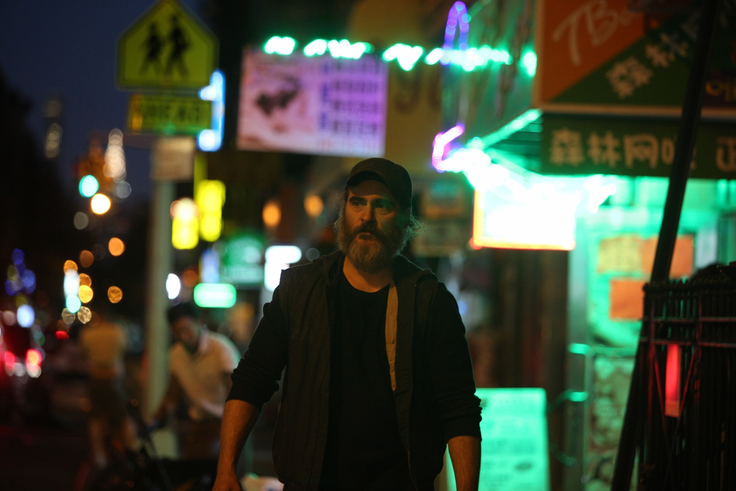 Joaquin Phoenix in You Were Never Really There
