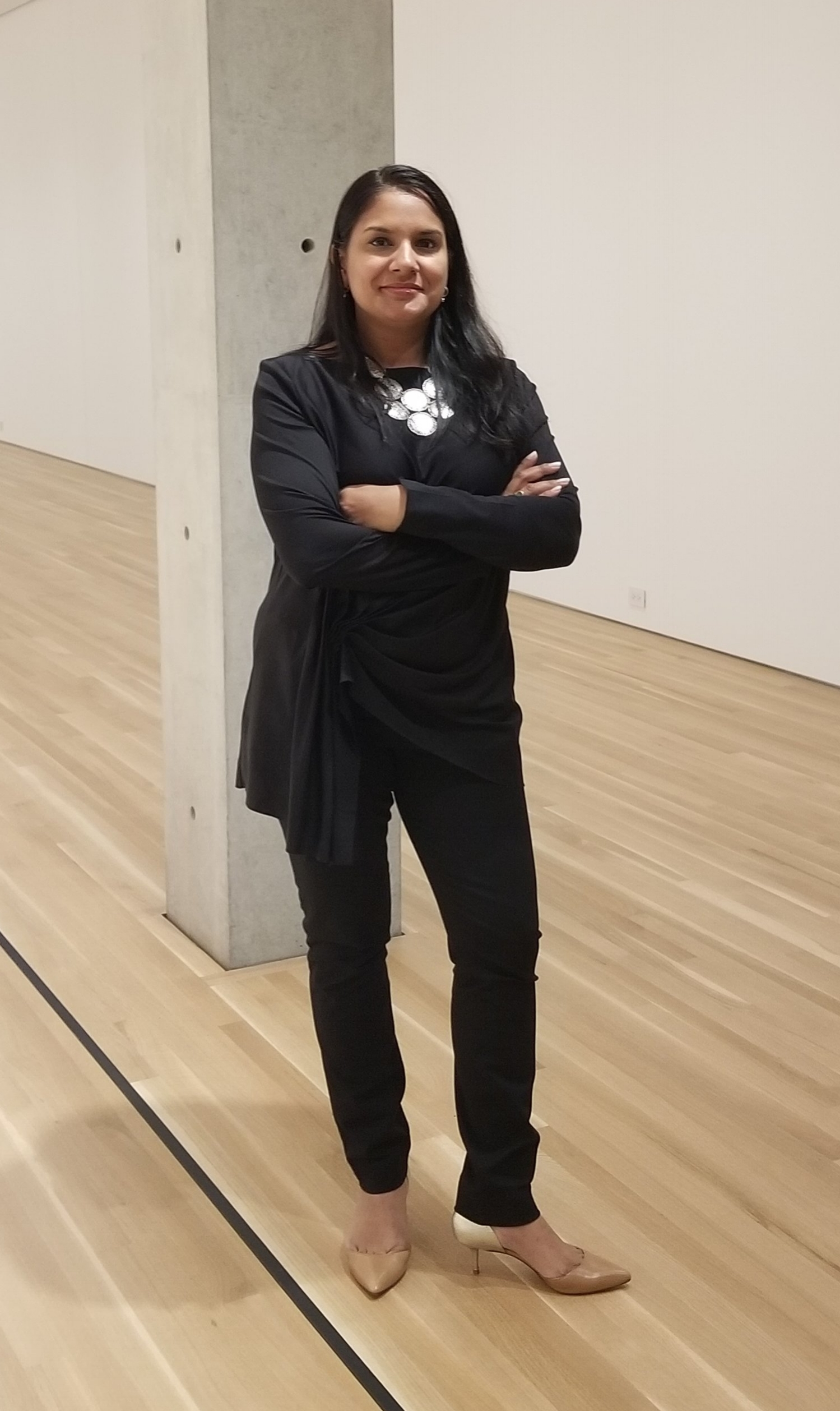 Sandhya Jain-Patel. producer of TRACE in Chicago