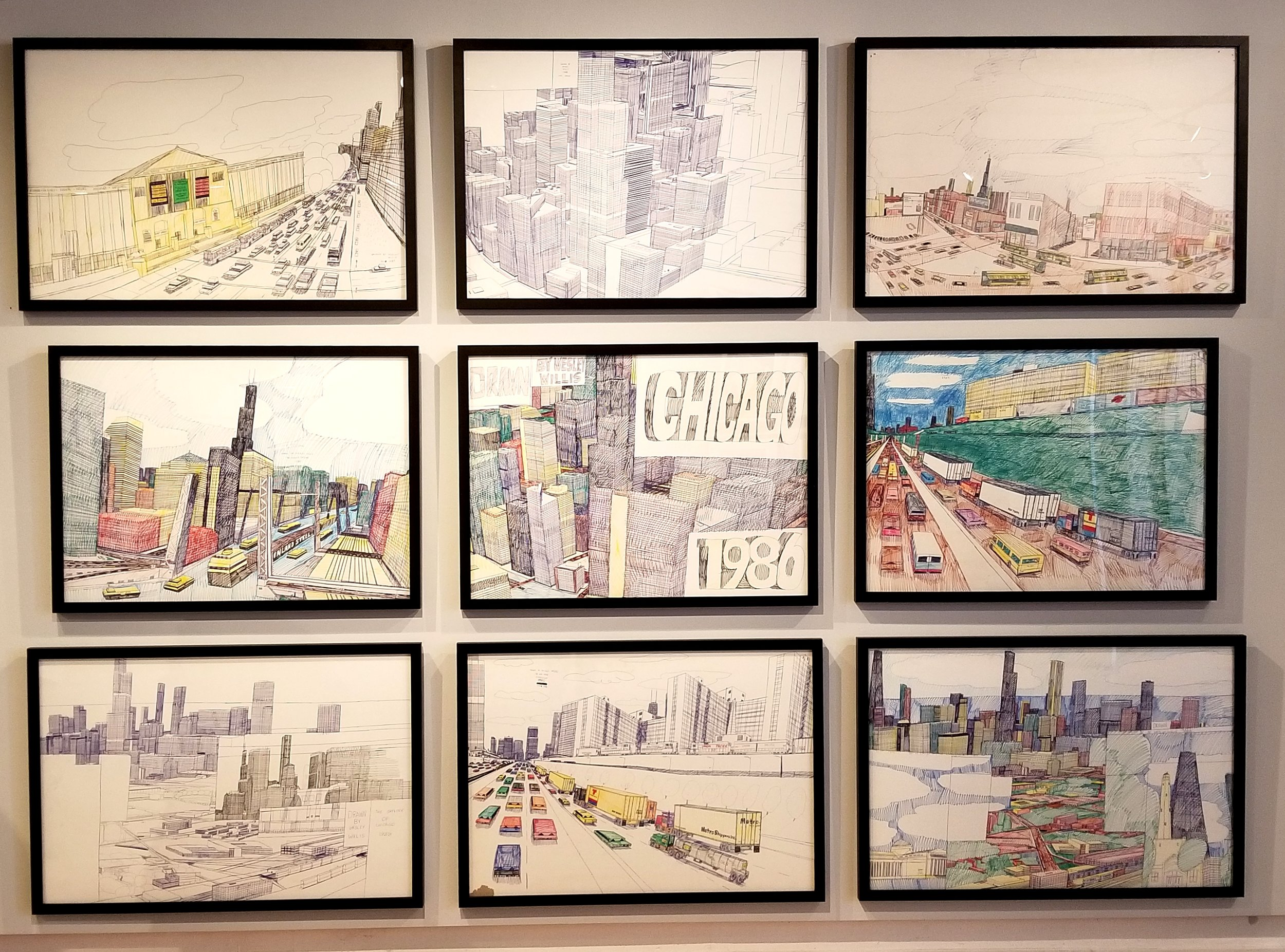 Pieces by Wesley Willis