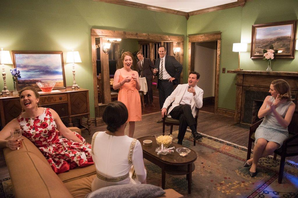 A scene from Windy City Playhouse's production of SOUTHERN GOTHIC