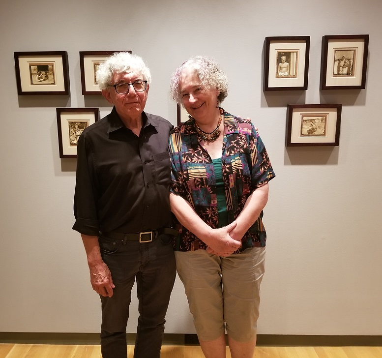 Alan Teller and Jerri Zbiral, the curators of FOLLOWING THE BOX