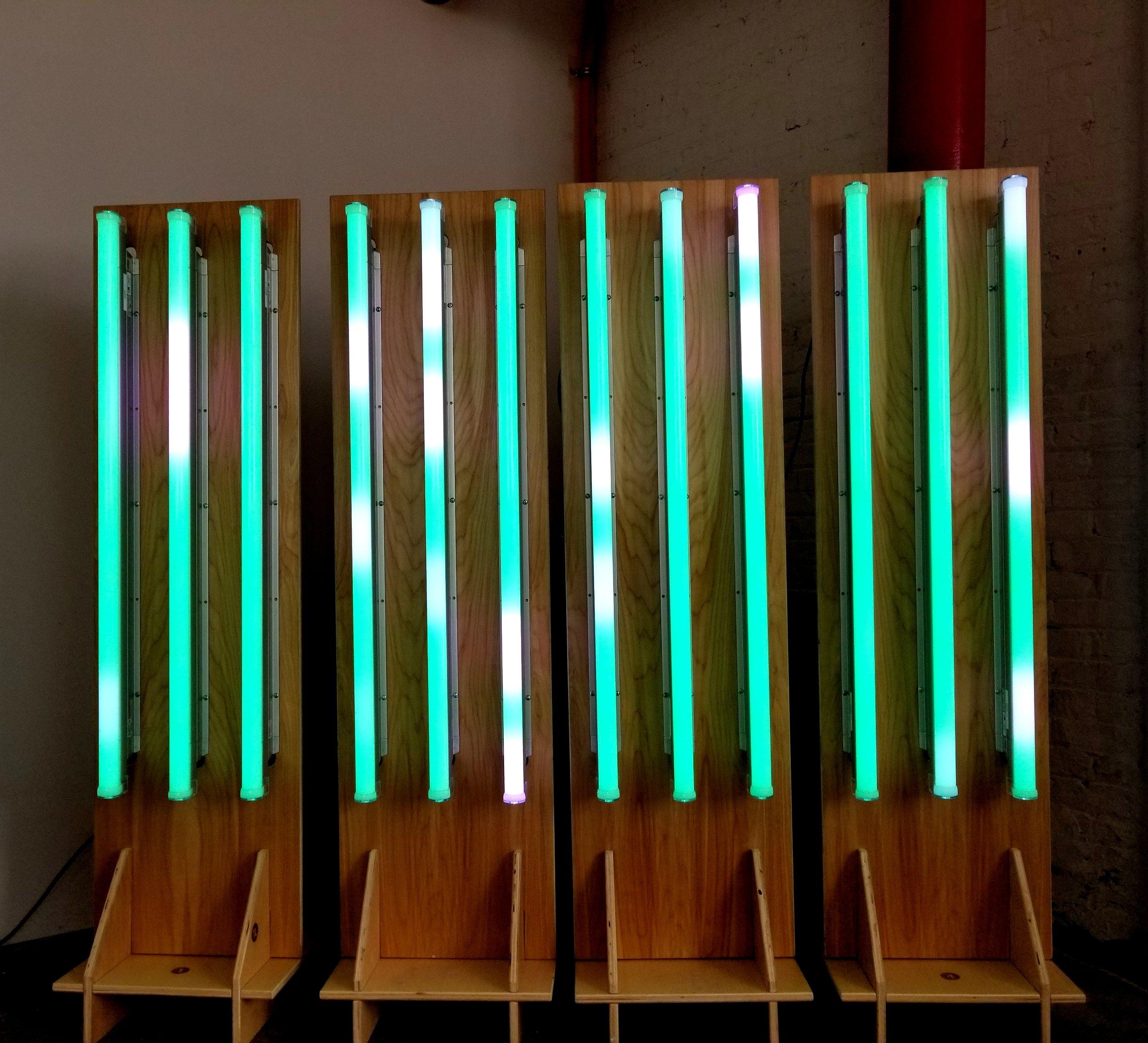The Wabash Lights mobile unit