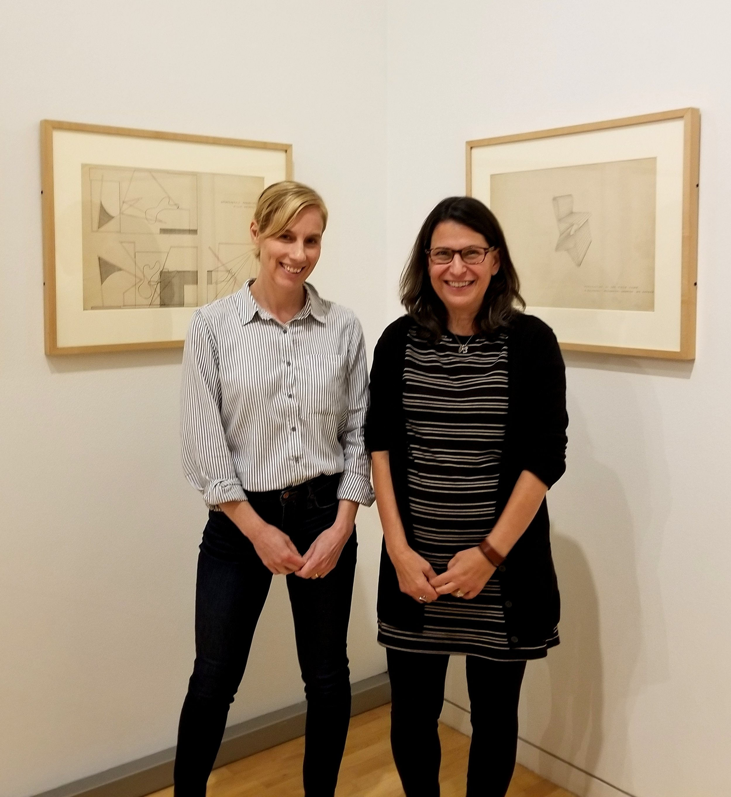 Co-curators: Amy Beste, Director of Public Programs in the Department of Film, Video, New Media & Animation at the School of the Art Institute and Corinne Granof, Curator of Academic Programs at the Block Museum of Art.