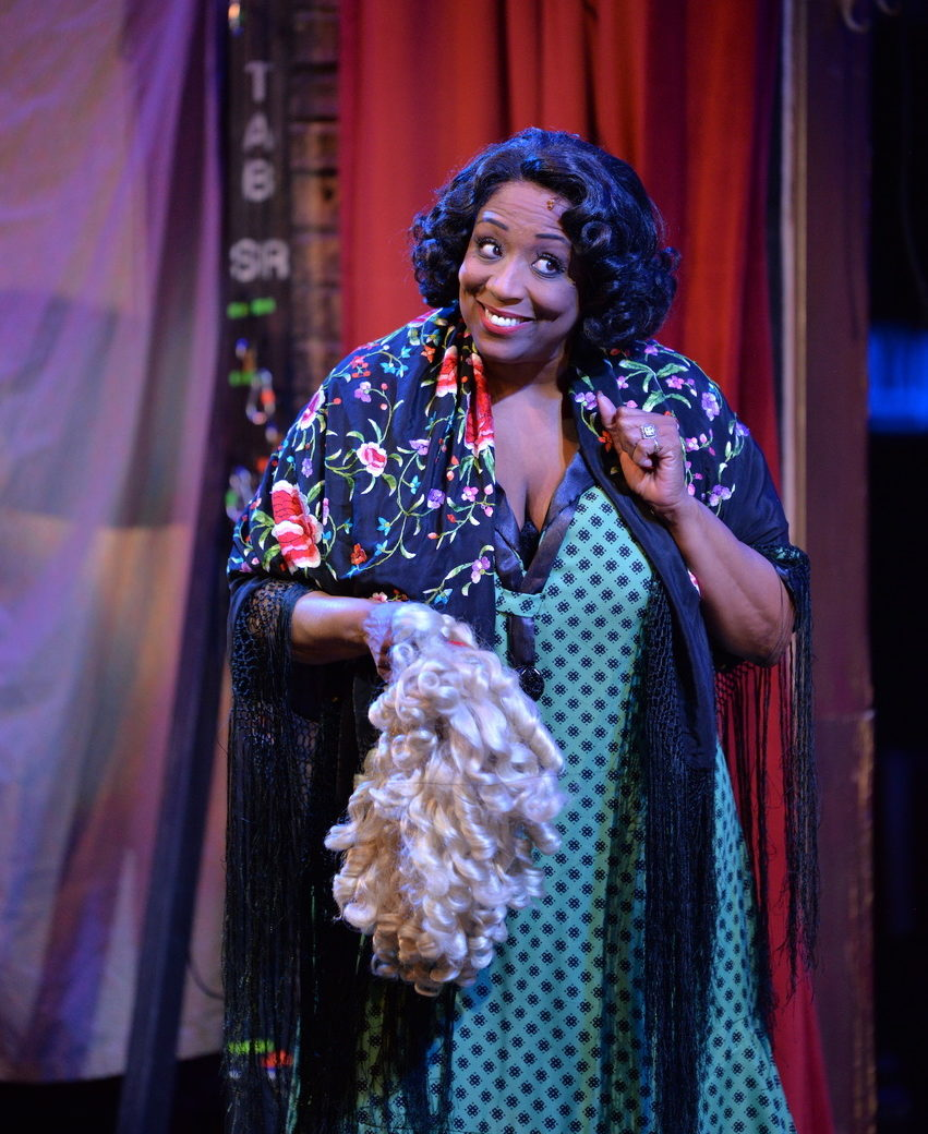 """Faye Butler as """"Rose"""" in Porchlight Music Theatre's GYPSY. Photo credit: Michael Courier"""