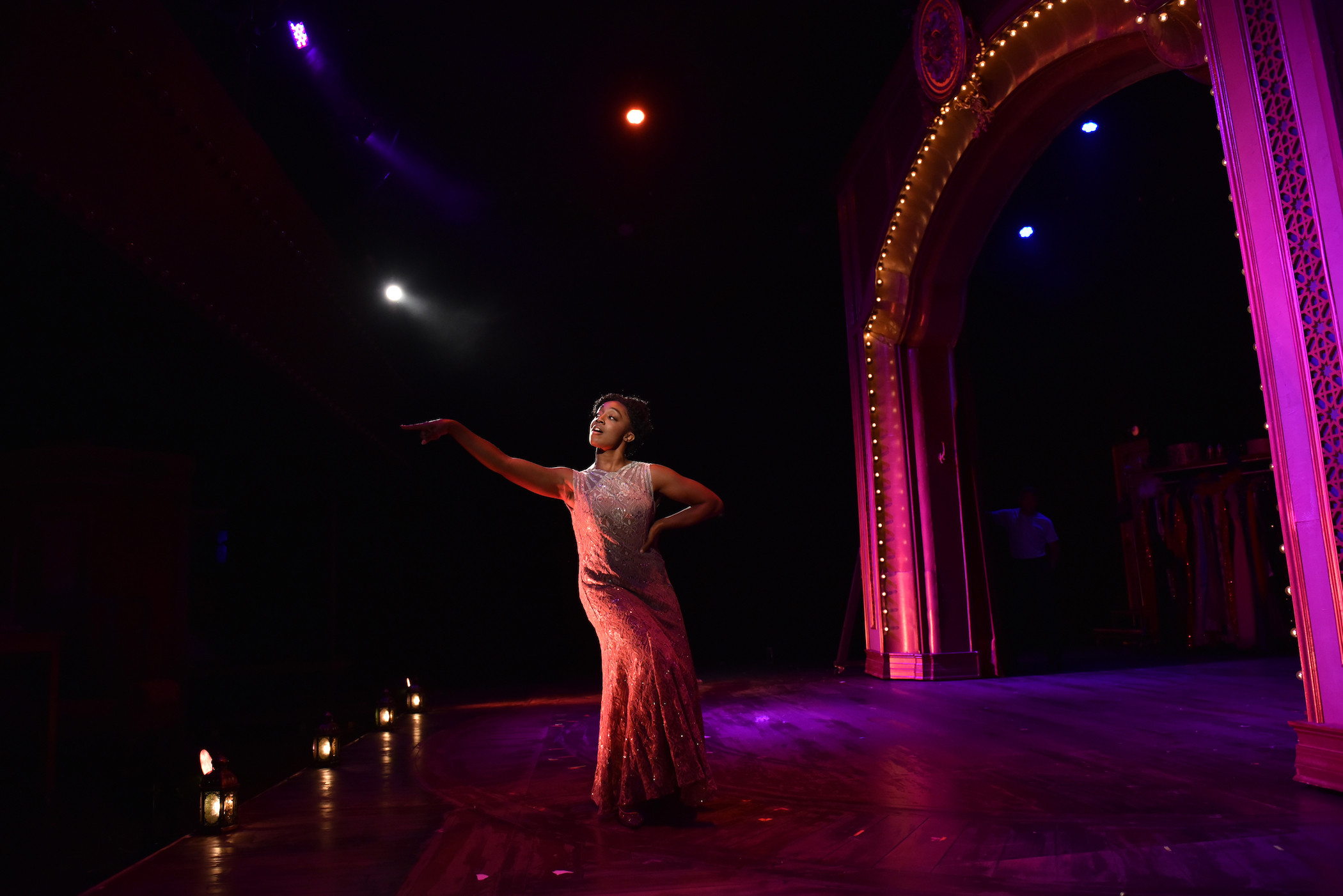 """Daryn Whitney Harrell as """"Louise"""" in GYPSY. Photo credit: Michael Courier"""