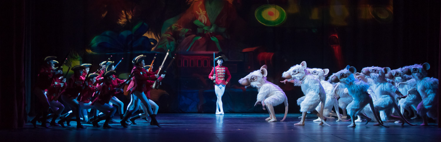 A scene from A & A Ballet's production of The Art Deco Nutcracker
