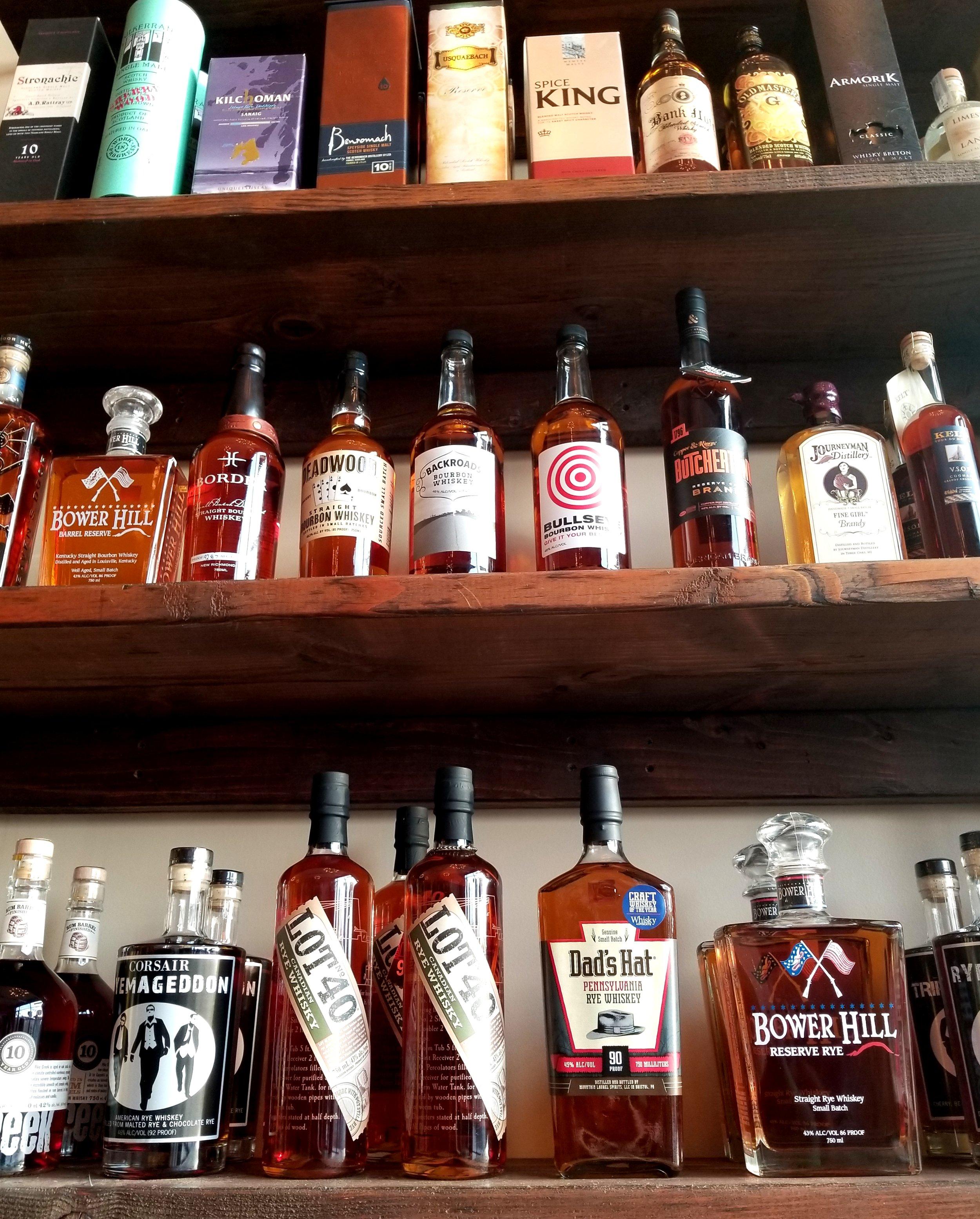 Hello bourbons