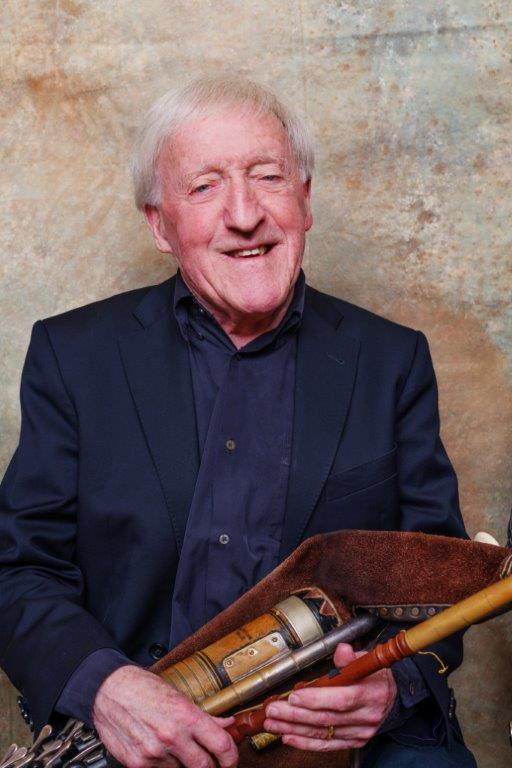 Paddy Moloney, founder of The Chieftains