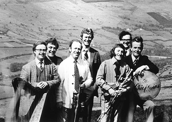 The Chieftains circa 1970