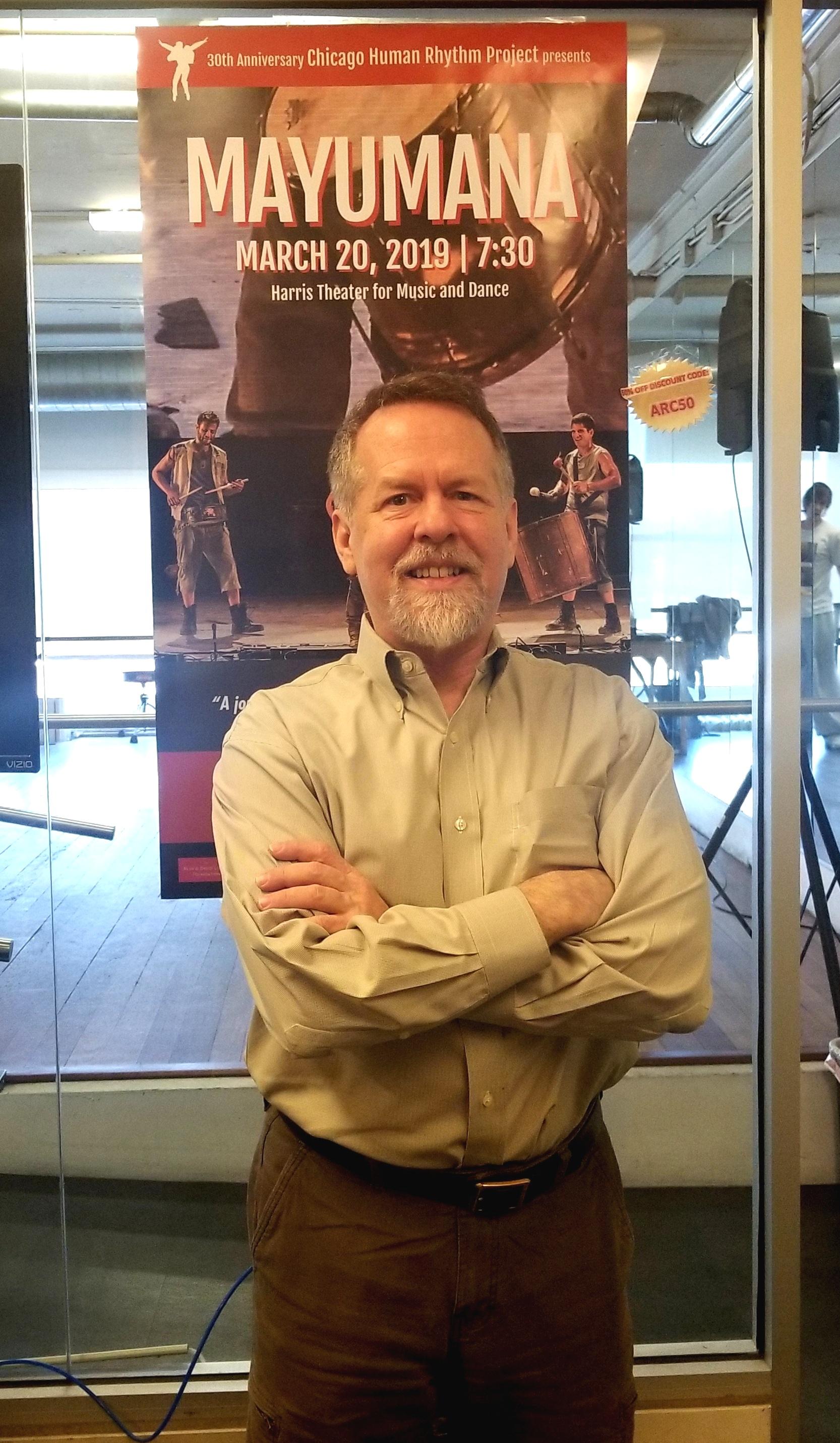 Lane Alexander, founder & director of Chicago Human Rhythm Project