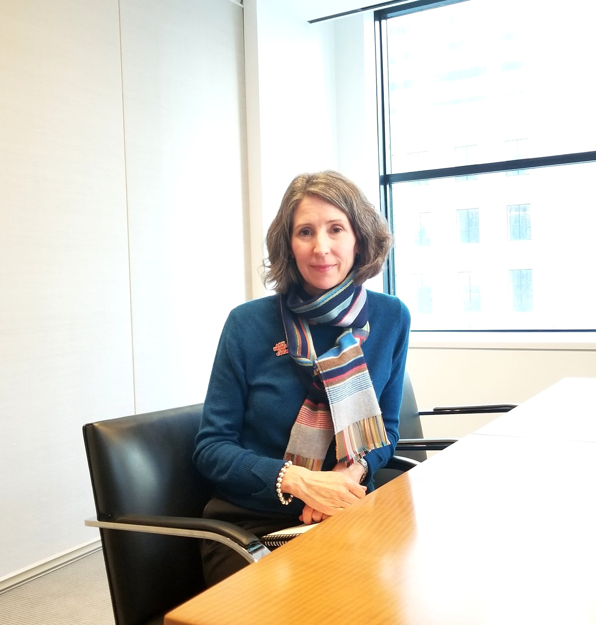 Jenny Seigenthaler, director of education grants and initiatives at the Terra Foundation