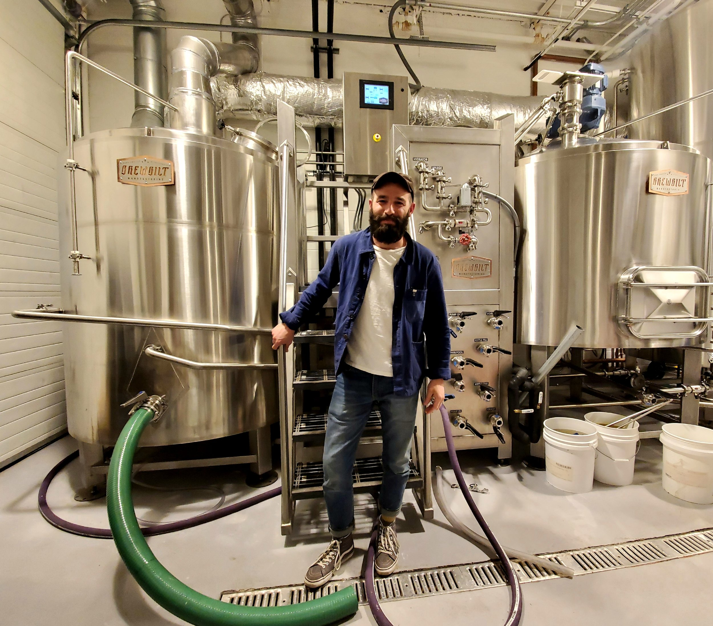 Pete Ternes, co-founder of Middle Brow Beer Company