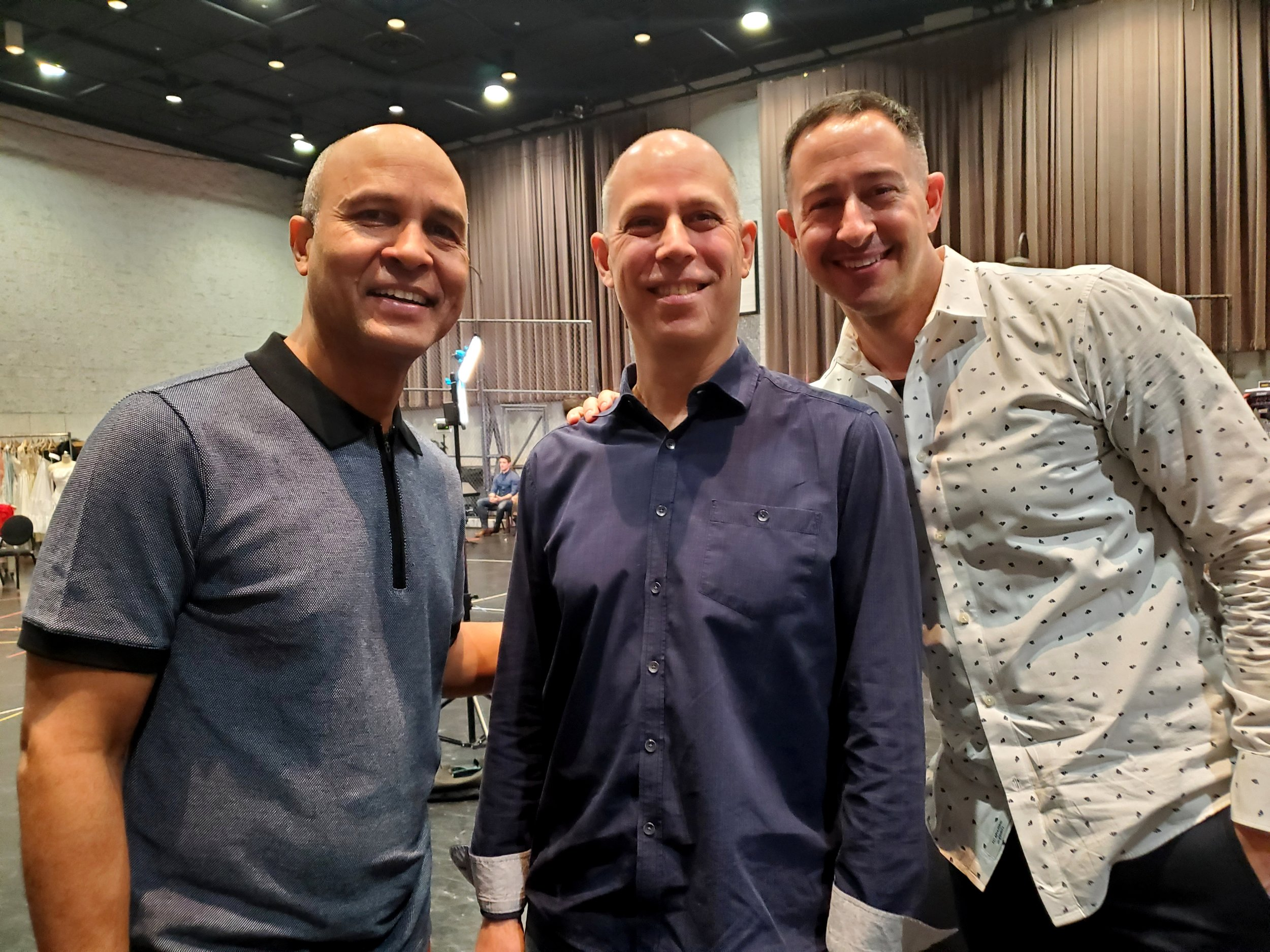 Choreographer Julio Monge, Conductor James Lowe and Associate Director Eric Sean Fogel