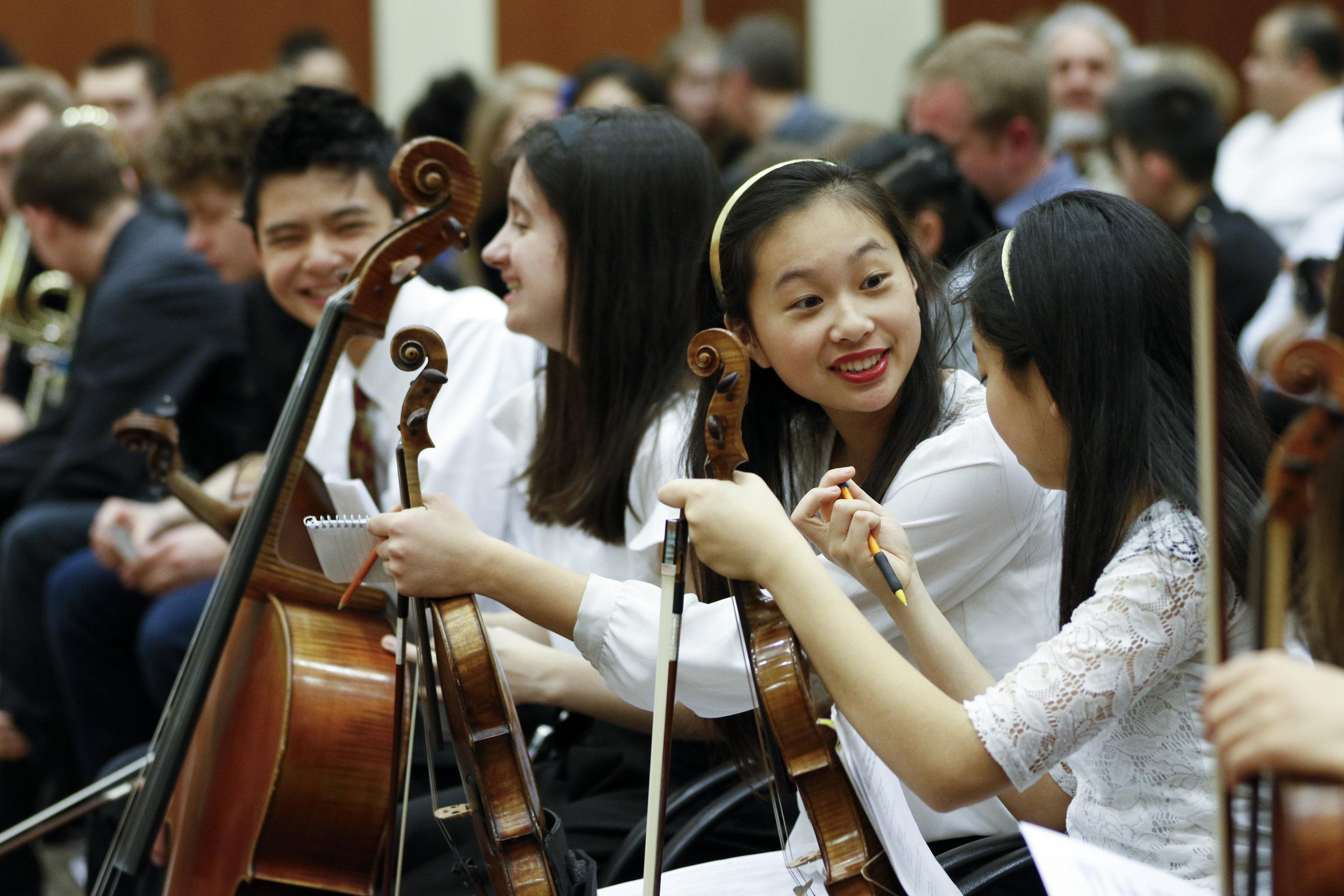 Merit students. Photo credit: Merit School of Music.