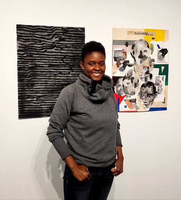 Chicago-based artist Alexandra Antoine