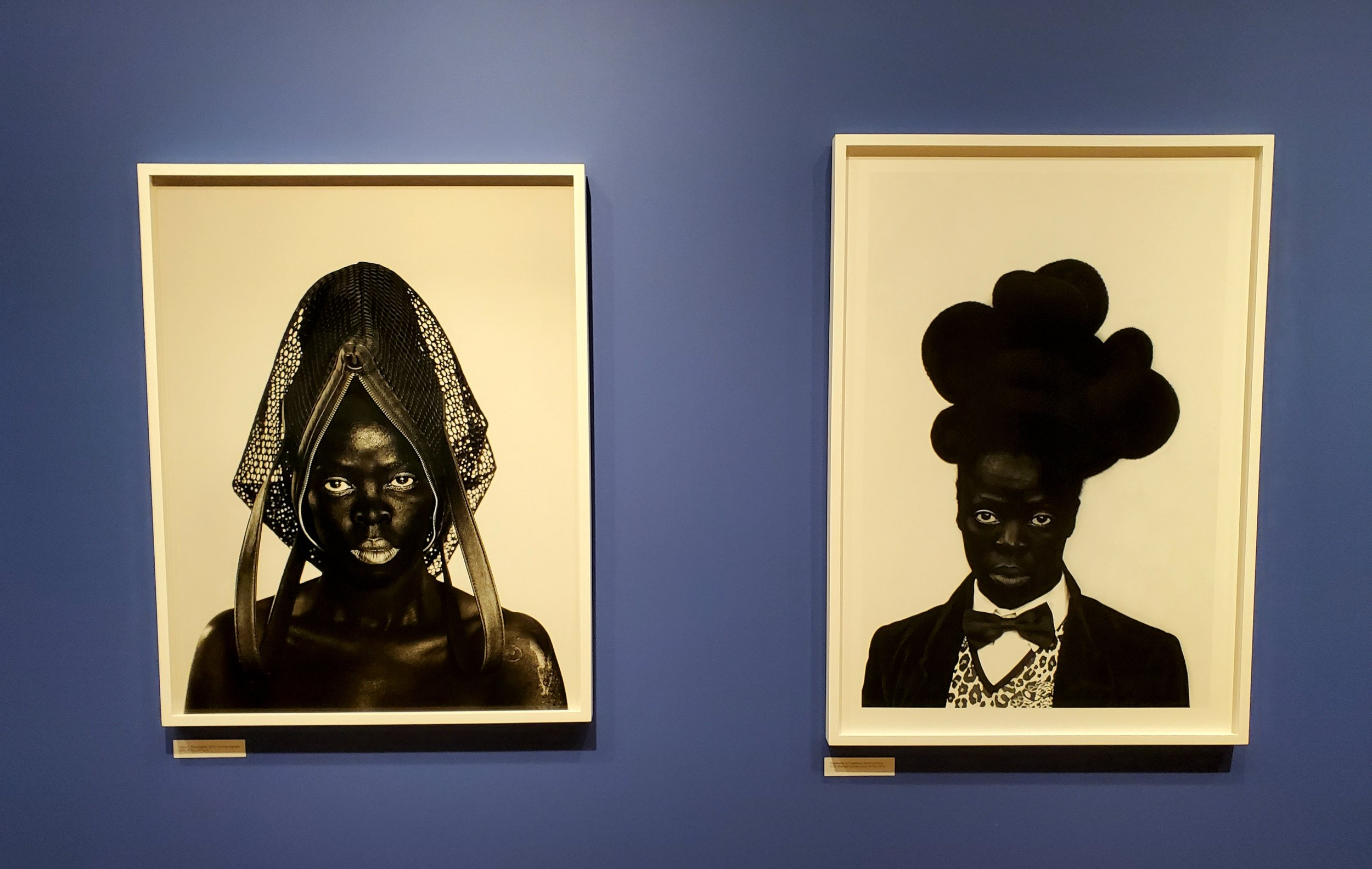 Works by artist Zanele Muholi