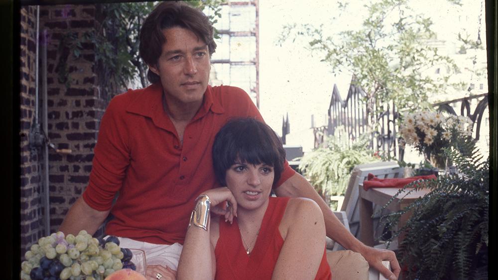 Halston and his bestie Liza Minnelli