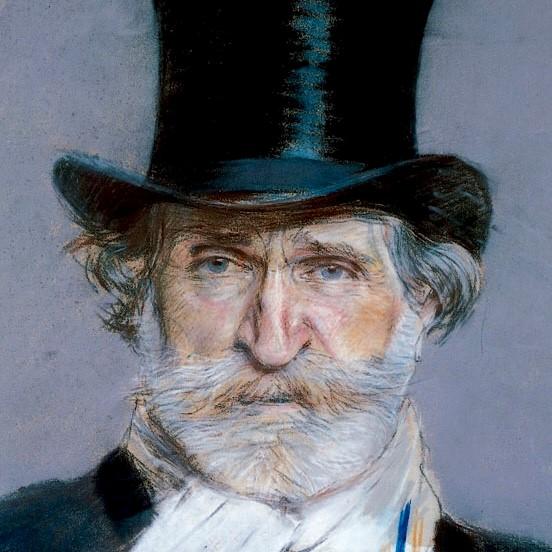 Italian opera composer, Giuseppe Verdi