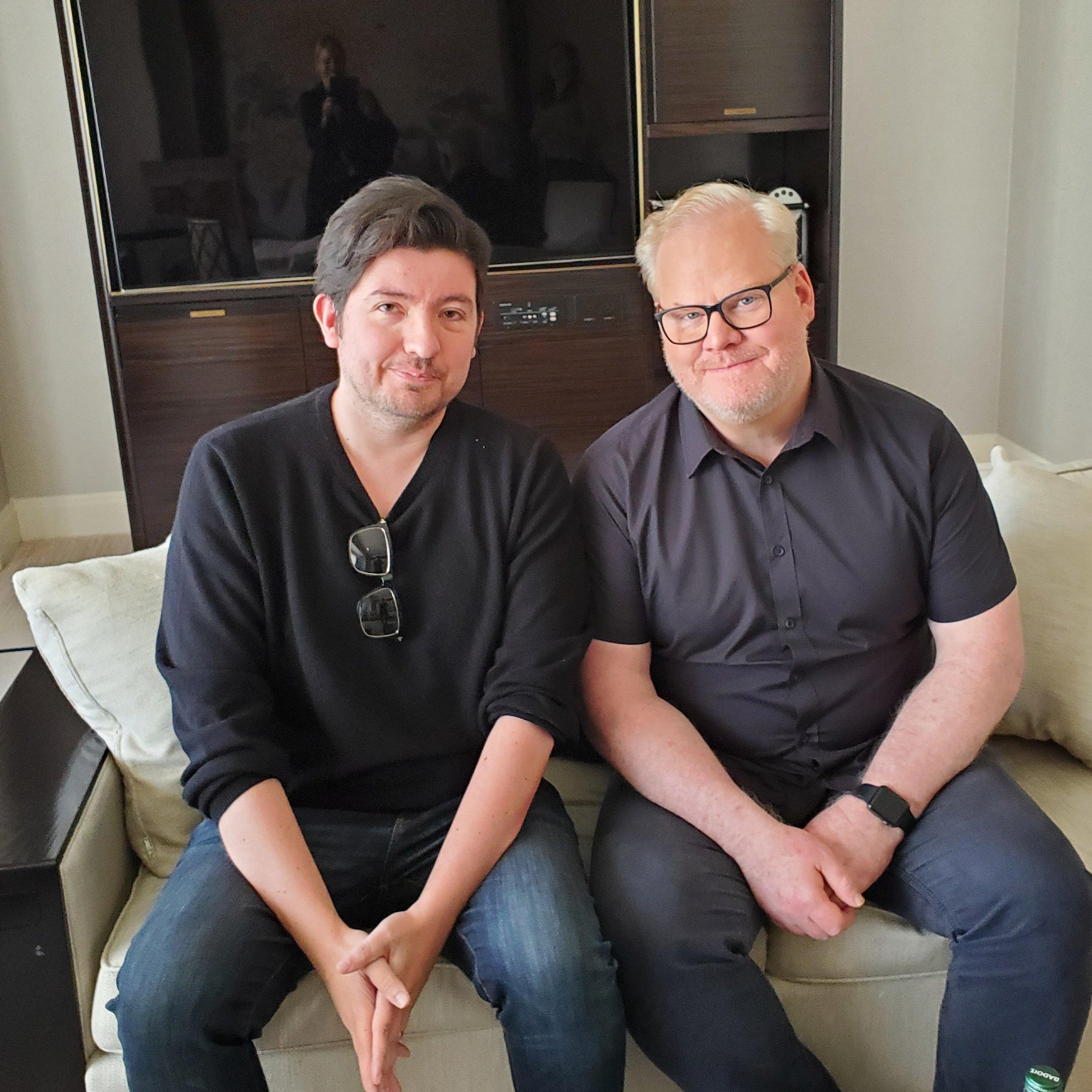 WDCB's Gary Zidek and Jim Gaffigan
