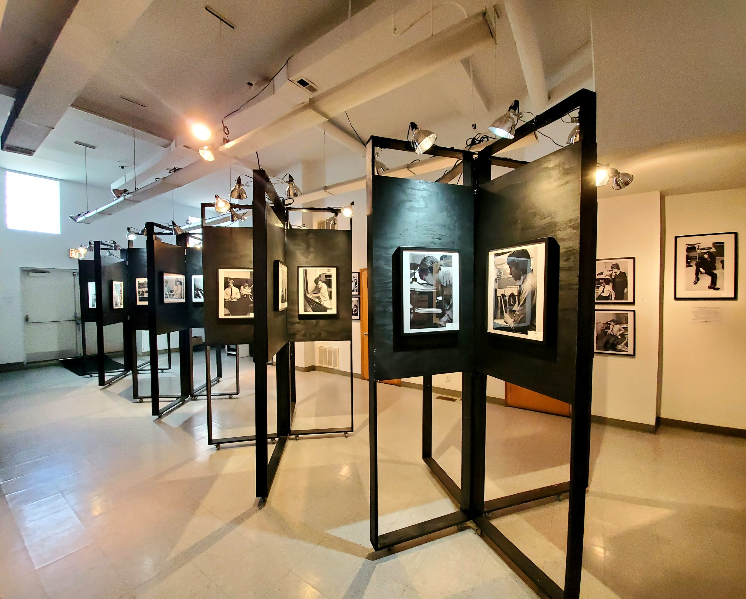 Photos that are part of the Rolling Stones At Chess exhibition