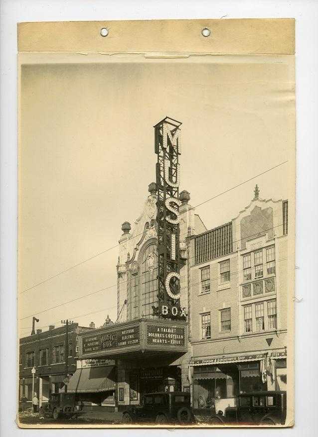 The Music Box Theatre 1929