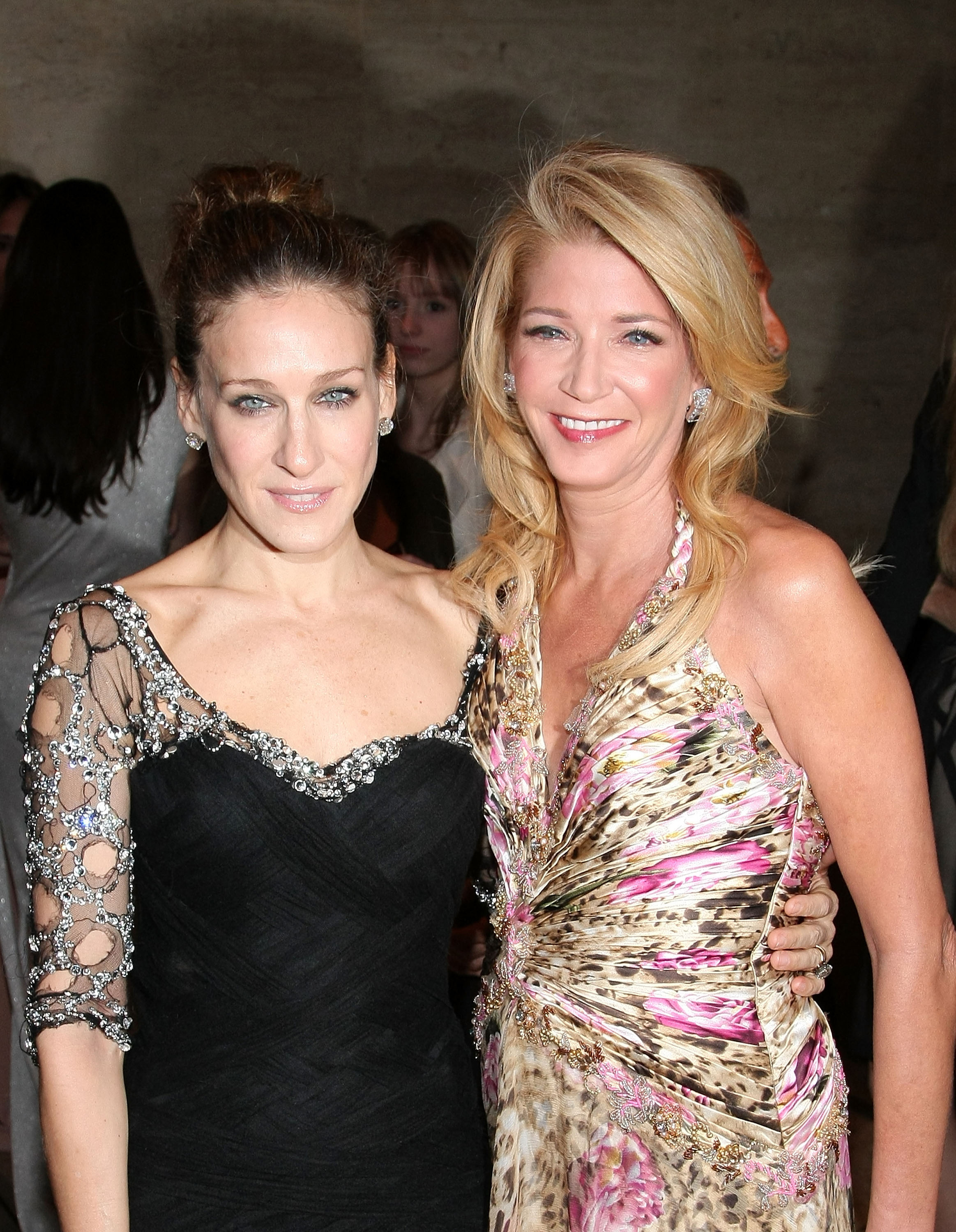 Sarah Jessica Parker (who played Carrie Bradshaw) & Candace Bushnell (who created Carrie Bradshaw)