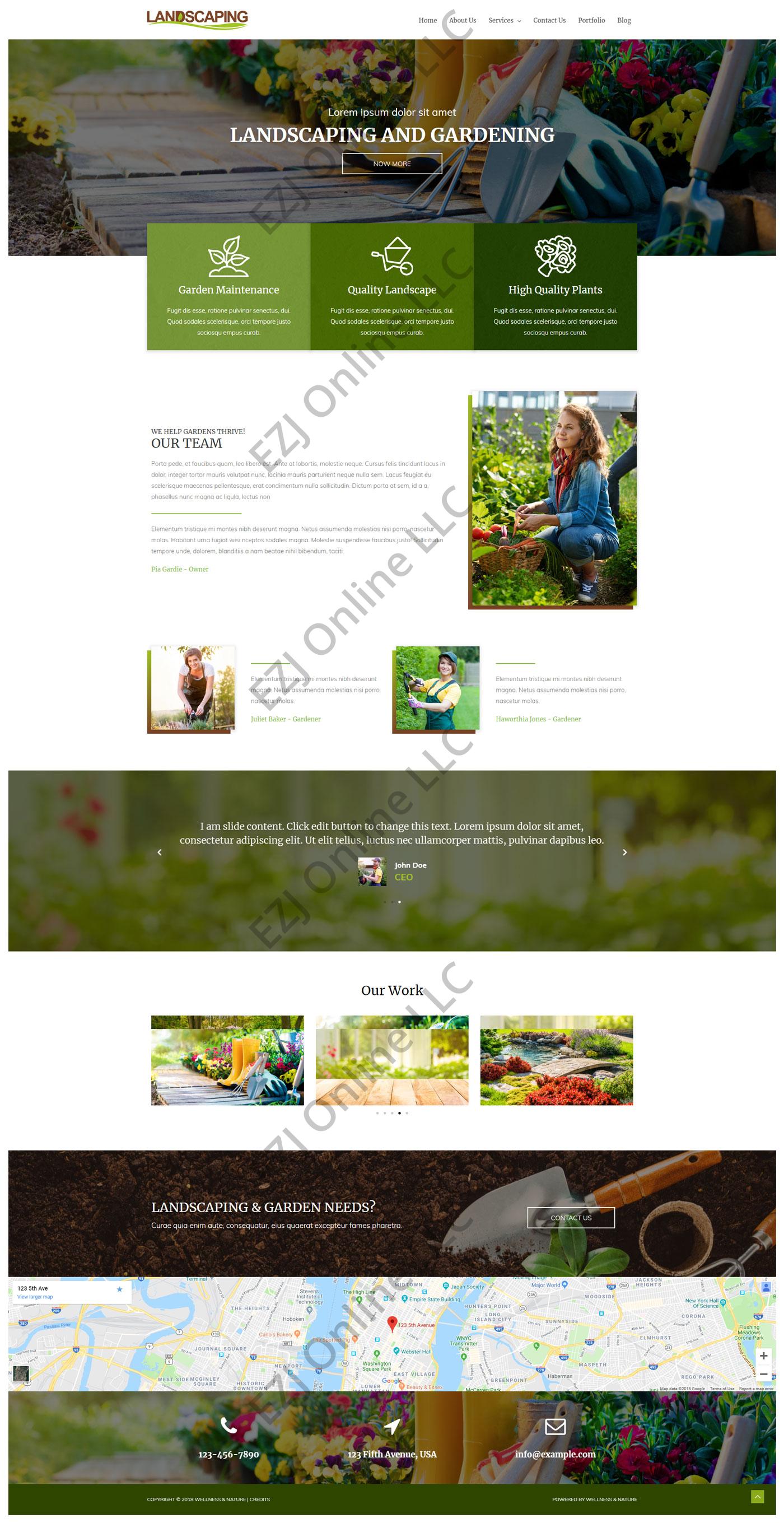 Website Design & Development Services In Albuquerque | EZJ Online