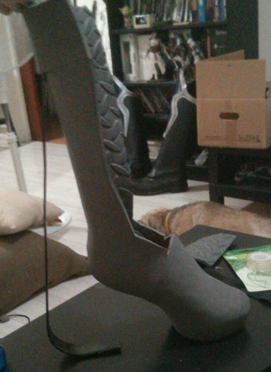 My workspace is my livingroom.