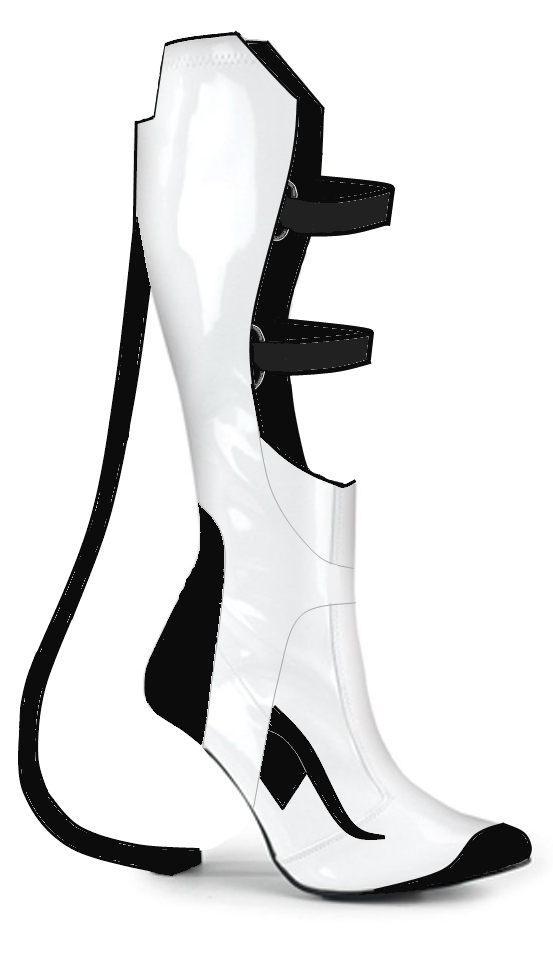 Chell S Portal 2 Long Fall Boots Alcaria Cosplay