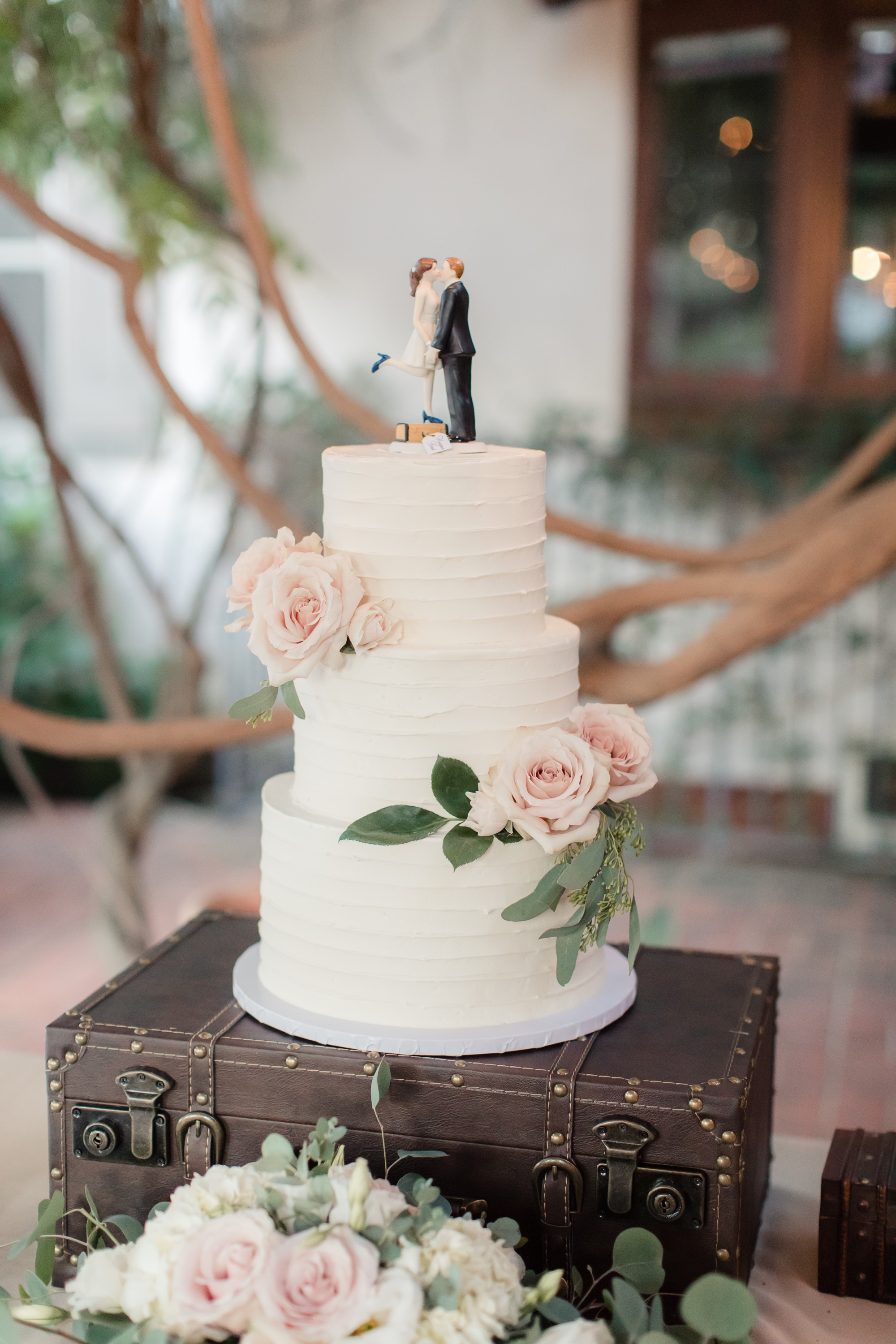 Figlewicz Photography | wheat & honey event coordination at quail ranch, wedding cake