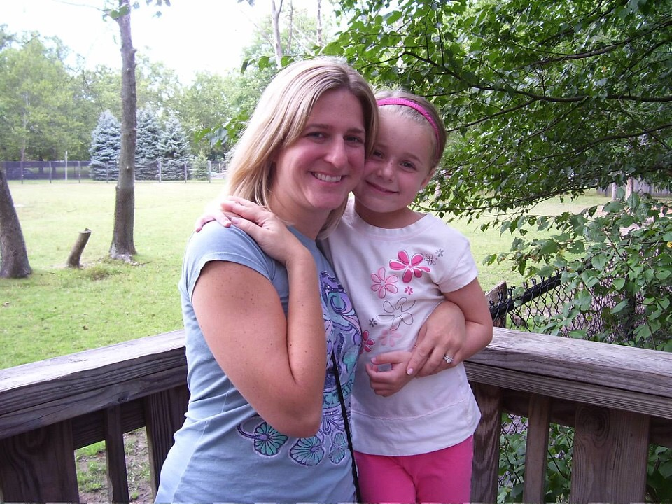 Jeanna with her niece before HVF/ZONED Fitness