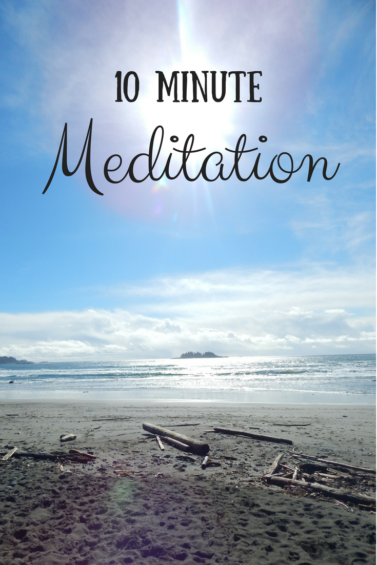 Quick Meditation to Clear Negative Energy