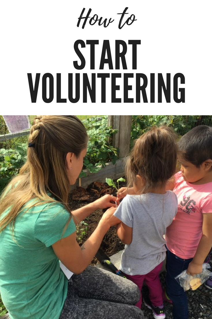 How to Start Volunteering