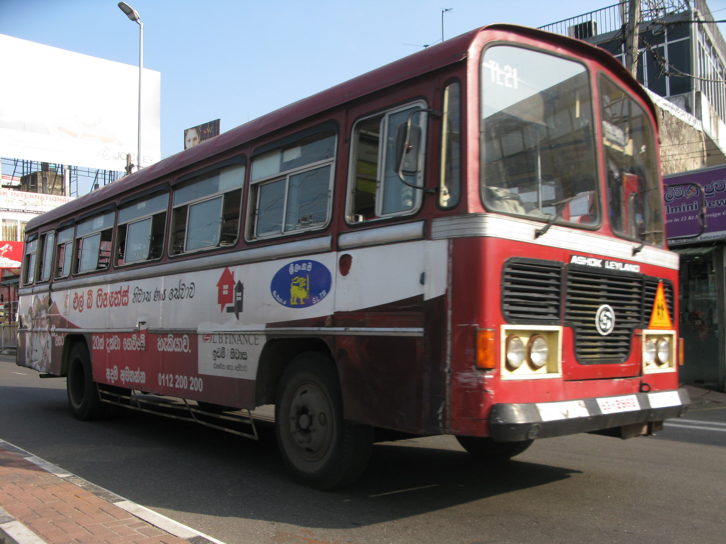 Bus Sri Lanka Travel