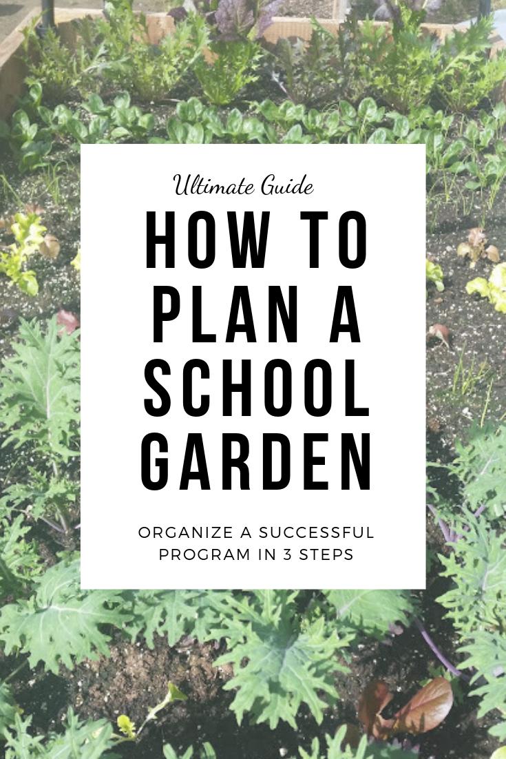 How to Plan a School Garden