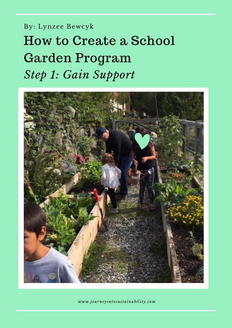 Garden Program Step One - Support