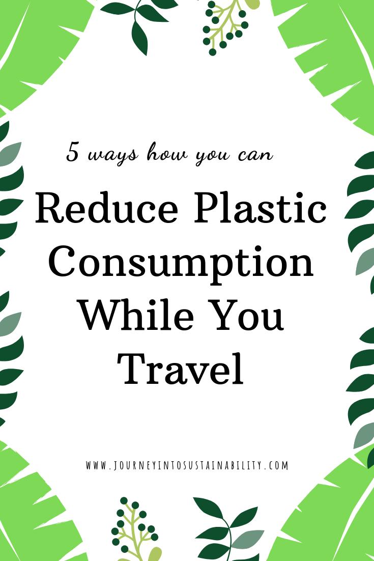 Fuck Plastic - Reduce Consumption Now