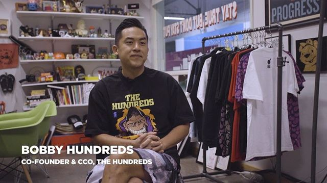We sat down with @bobbyhundreds to talk about his love for Looney Tunes, where @thehundreds mascot came from, and the cartoon duo that inspired his latest collection. Check out our stories for more from the interview! #TheHundredsXLooneyTunes