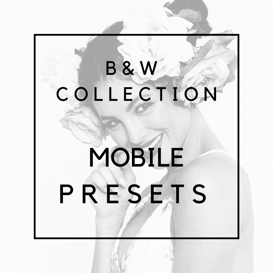 Black & White Collection for Mobile
