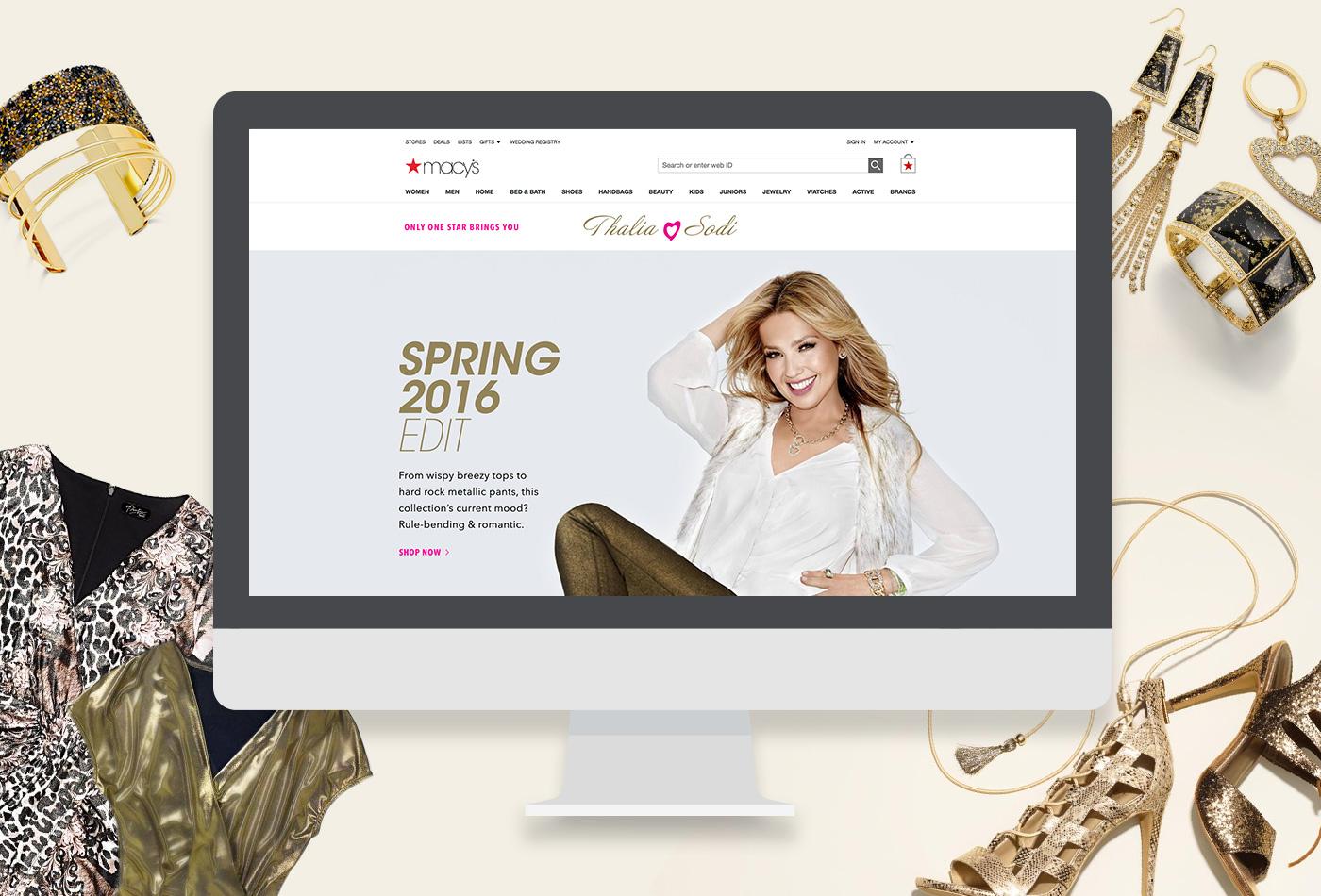 Macy's + Thalia Sodi Brand Shop